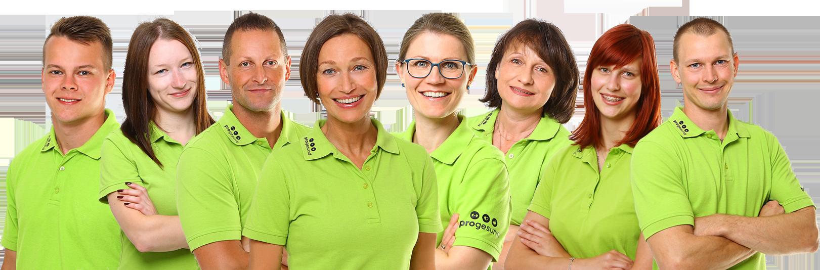 Unser progesund Team in Jena