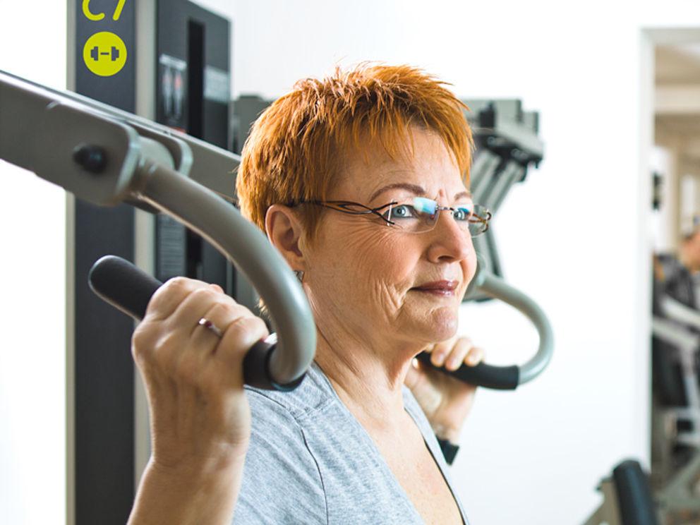 Krafttraining, Muskelaufbau und -erhalt nach einer Krebserkrankung für best ager