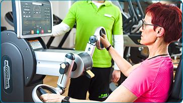 Ausdauertraining mit unserem Schulterergometer bei Schulter-, Hüft-, Knie- oder Fußschmerzen