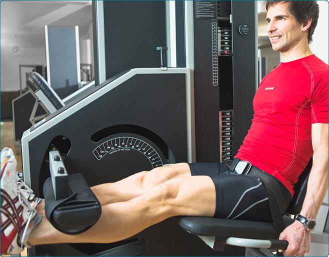 Training bei Kniebeschwerden